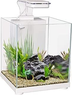 Aqua One Betta Sanctuary Glass Aquarium 10L 22.4W X 22.4D X 26.3cm H White