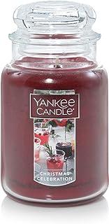 Yankee Candle Large 2-Wick Tumbler Candle, Cascading Snowberry Large Jar 1623466