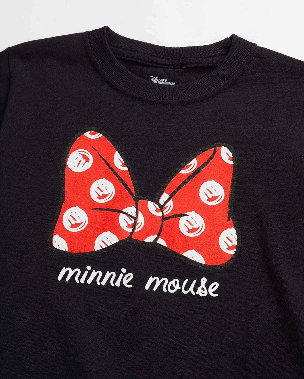 Disney Girls' Princess T-Shirt Bundle – Princess, Frozen, Minnie Mouse (4 Pack)