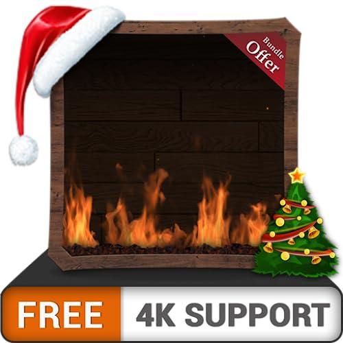 free woody fire flames HD - genießen Sie den Kamin in den kühlen Weihnachtsferien im Winter auf Ihrem HDR 4K-Fernseher, 8K-Fernseher und Feuergeräten als Hintergrundbild und Thema für Vermittlung und