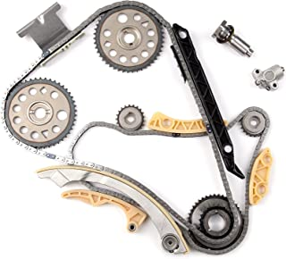 OCPTY fit for 01-10 Chevrolet Oldsmobile Pontiac Saturn GM 2.0 2.2 2.4 DOHC Ecotec Engine Timing Chain Kit with Balance Shaft