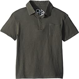 Chaser Kids Cotton Jersey Short Sleeve Polo (Little Kids/Big Kids)