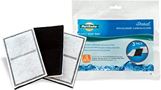 PetSafe Drinkwell Replacement Carbon Filters, Dog and Cat Water Fountain Filters