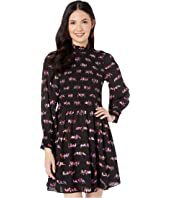 Kate Spade New York - Love Birds Smocked Dress