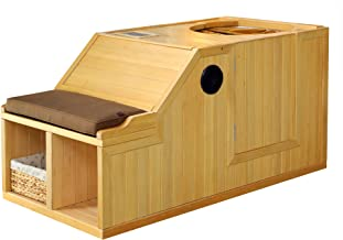 Radiant Saunas BSA2101 Serenity Hemlock Infrared Half Sauna, 59