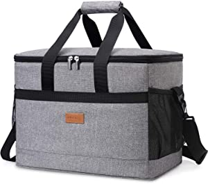 Lifewit Cooler Bag 30/50/60 Cans Collapsible and Insulated Large Lunch Bag Leakproof Soft Cooler Portable Tote for Camping/BBQ/Family Outdoor Activities