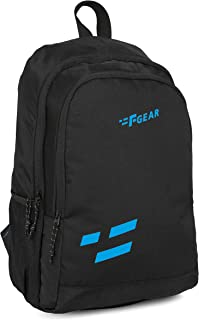 F Gear Castle Black 22 Ltrs Casual Backpack (3227)