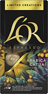 L'OR Espresso Koffiecups Limited Creations Catuai (100 Lungo Koffie Capsules, Geschikt voor Nespresso* Koffiemachines, Int...