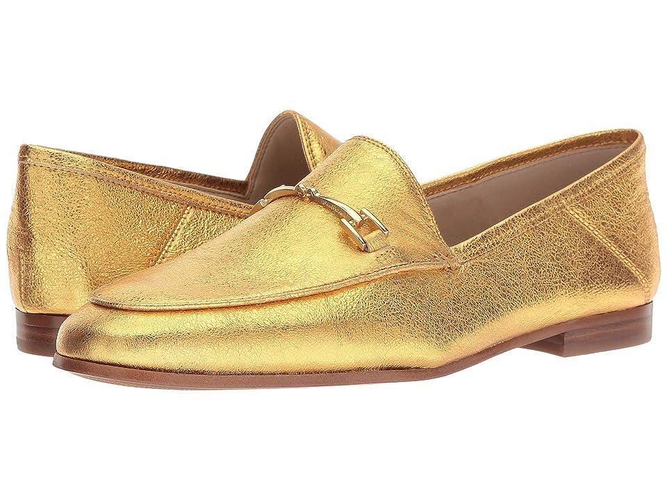 Sam Edelman Loraine (Exotic Gold Soft Crinkle Metallic Leather) Women