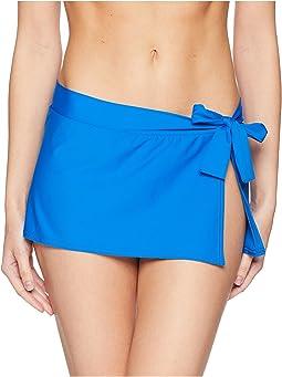 Pearl Skirted Hipster Bikini Bottom