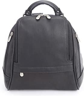 Royce Leather Women's Luxury Sling Backpack Handcrafted in Colombian Leather, Black, One Size