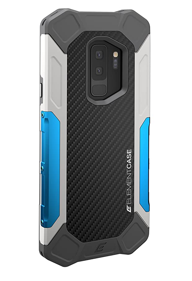 Element Case EMT-322-181EW-01 Formula Case for Samsung S9+ - Grey/Blue