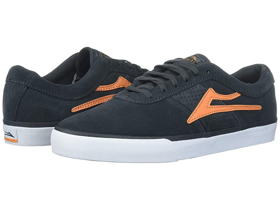 Lakai Sheffield (Charcoal/Orange Suede) Men