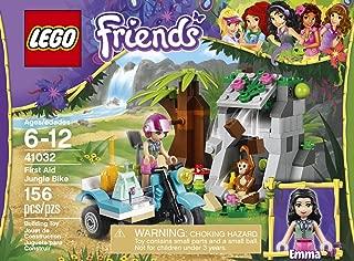 Friends LEGO 156 PCS First Aid Jungle Bike Brick Box Building Toys