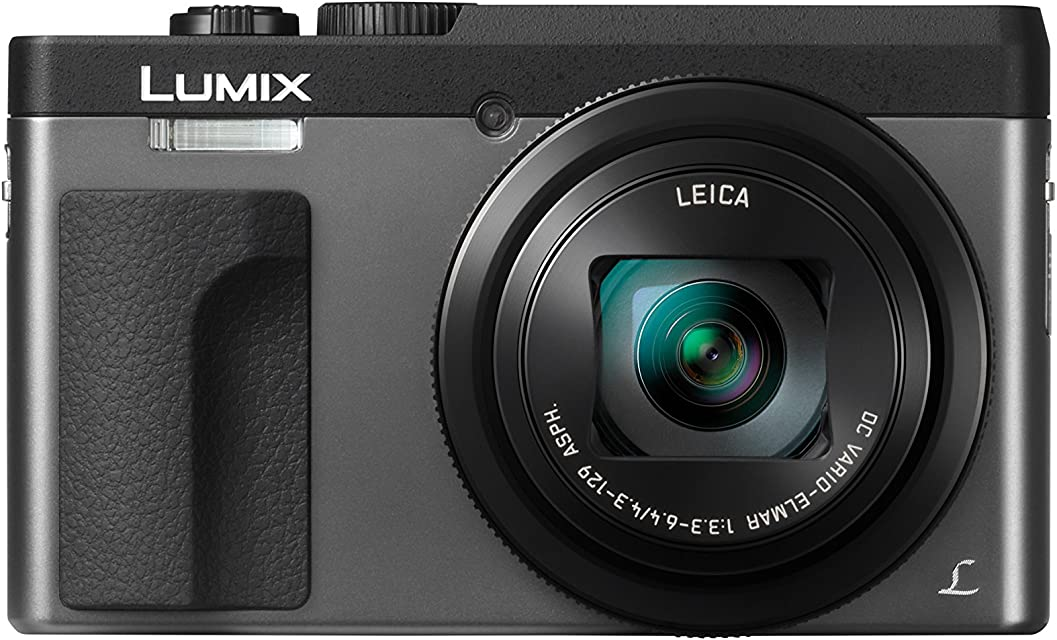 Panasonic Lumix DC-TZ90 - Cámara Compacta de 203 MP (Super Zoom 10fps Objetivo F3.3-F6.4 de 24-720mm Zoom de 30X Pantalla Abatible 4K Wifi RAW) Color Plata