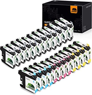 JARBO Compatible Ink Cartridge Replacement for Brother LC103XL, 4 color, (12 Black, 4 Cyan, 4 Magenta, 4 Yellow), Compatible for Brother MFC J870DW J450DW J470DW J650DW J4410DW J4510DW J4710DW J6720DW