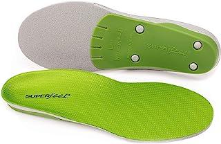 superfeet Wide Green, Plantillas-Cómodas Unisex Adulto