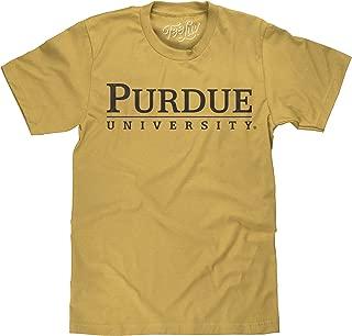 Tee Luv Purdue University Shirt - Gold Heather Purdue College T-Shirt