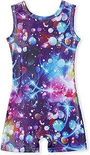 TUONROAD Girls Gymnastics Leotards Sparkly Kids One-Piece Unitards Active Sportwear 3-7 Years
