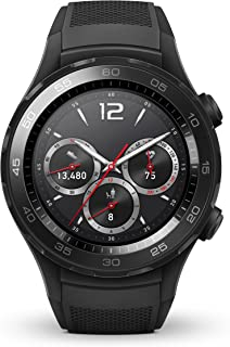 HUAWEI Watch 2 Sport Smartwatch, Fitness and Activities Tracker with Built-in GPS, Heart Rate, Music, Smart Notificatons, IP68-Life Waterproof - Black