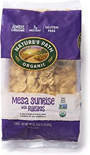 Nature's Path Mesa Sunrise with Raisins Cereal, Healthy, Organic, Gluten-Free, 29.1 Ounce (Pack of 6)