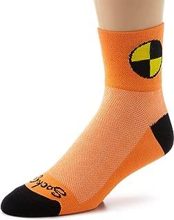 SockGuy Men's Crash Test Dummy Socks