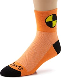 SockGuy Men's Crash Test Dummy Socks