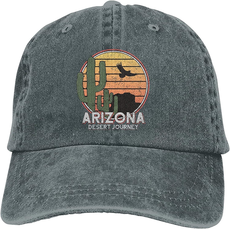 Arizona State Desert Journey Baseball Cap, Adjustable Size Dad Hat, Vintage Baseball Hats for Men Woman