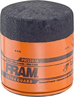 Fram PH3387A Extra Guard Passenger Car Spin-On Oil Filter (Pack of 2)