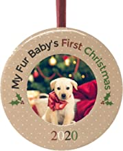 Dogs First Christmas Ornament