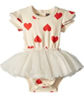 Rock Your Baby - Sweetheart Short Sleeve Circus Dress (Infant)