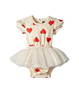 Sweetheart Short Sleeve Circus Dress (Infant)