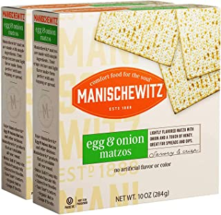 Manischewitz Egg & Onion Matzo 10oz (2 Pack)