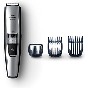 Philips Norelco Beard and Hair Trimmer, Series 5100 with 3 Attachments Cordless Hair Clipper and Face Groomer - No Blade Oil Needed, BT5210/42