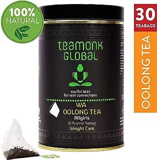 Teamonk Wa Nilgiri Oolong Tea Bags - 25 Teabags | Weight Loss Tea | Slimming Tea | Premium Oolong Tea for Weight Loss | No Additives