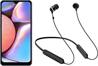 Samsung Galaxy A10s + Samsung Wireless Earphone with Flexible Neck Band