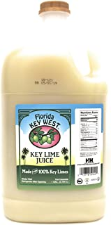 Florida Key West Key Lime Juice, 128 Ounce