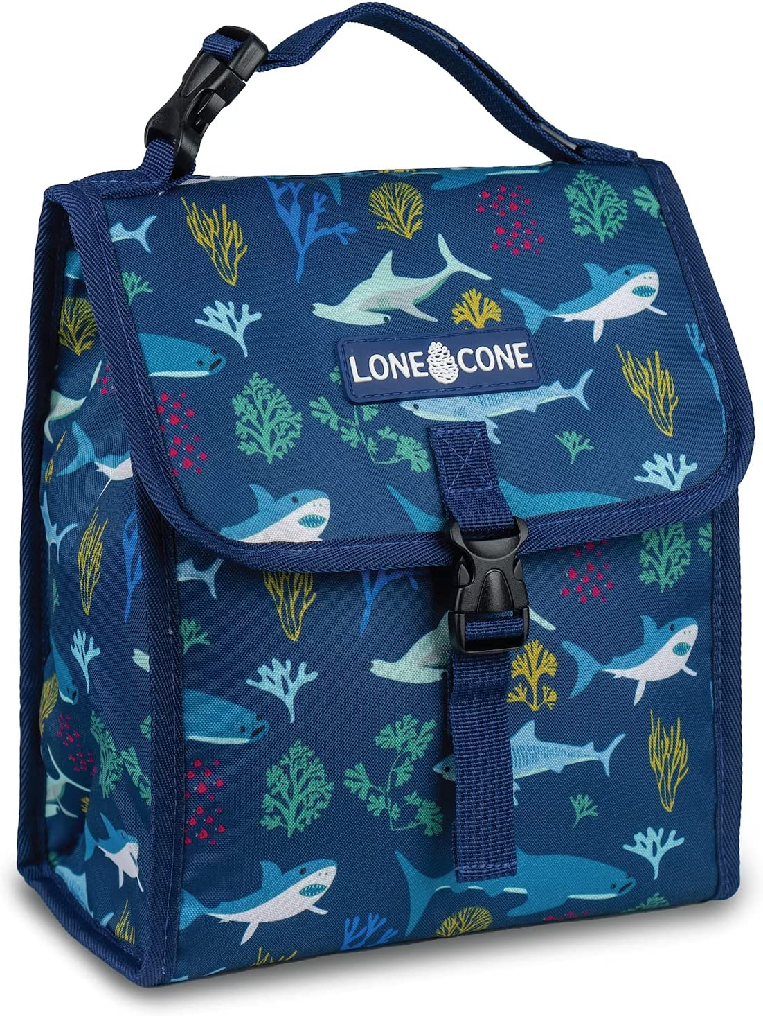 LONECONE Kids' Insulated Fabric Lunchbag for - Free shipping on posting reviews Fun Patterns Boys Today's only