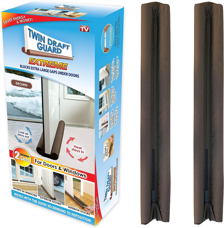 Latest item Twin Draft Guard 60224-DNA Energy Saving Door Under Regular store Stoppe
