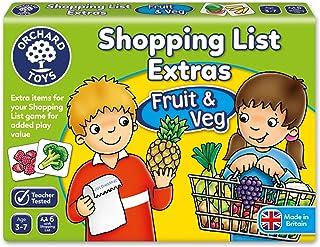 Orchard Toys - Shopping List Booster - Fruit & Veg