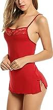 Avidlove Women Chemises Lingerie Mini Babydoll Sleepwear Strappy Cami Dress S-3XL