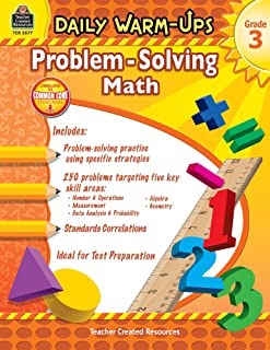 Daily Warm Ups: Word Problems - Book - Grade 3