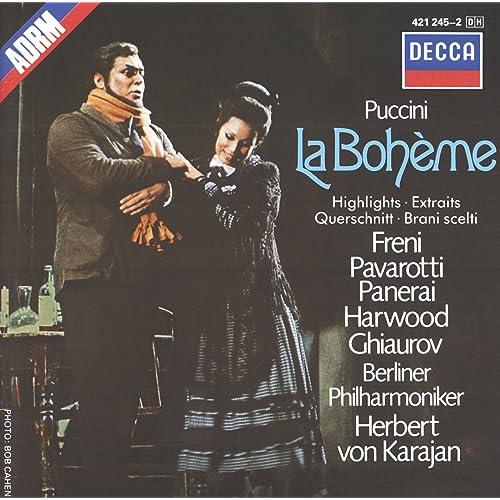 Puccini La Bohème Highlights Von Mirella Freni Luciano