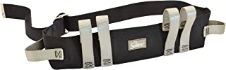 Secure STWBM-60G Transfer & Walking Gait Belt w/Quick Release Metal Buckle, 6 Hand Grips - Caregiver Assist Mobility Aid for Elderly, Seniors, Therapy
