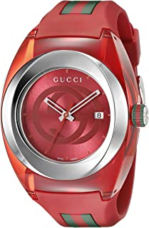gucci watch red strap