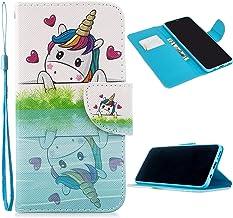 Miagon Full Body Custodia Cover per Xiaomi Redmi Note 10 4G,Colorato Modello PU Pelle Flip Portafoglio Libro Case Wallet M...
