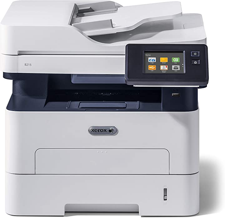 Stampante xerox multifunzione b215 a4 30ppm wireless copy/print/scan/fax B07VVSJ7LP