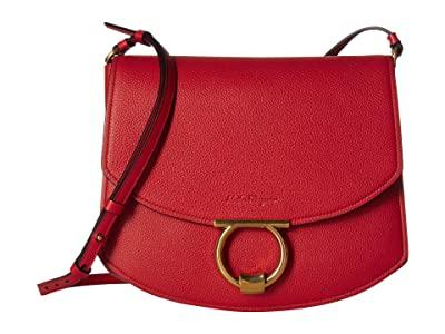 Salvatore Ferragamo Margot Crossbody (Paprika) Handbags