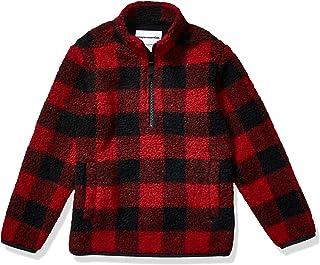 Amazon Essentials Quarter-Zip High-Pile Polar Fleece Jacket Niños
