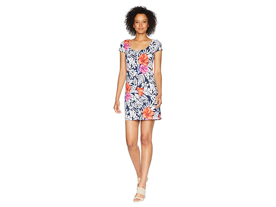 Tommy Bahama - Tommy Bahama Fuego Floral Scoop Neck Dress